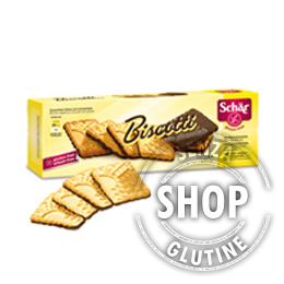 Biscotti con Cioccolato Schär senza glutine
