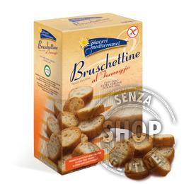 Bruschettine al Formaggio Piaceri Mediterranei senza glutine