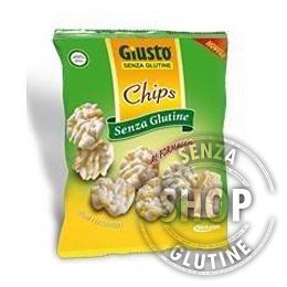 Chips al Formaggio Giusto senza glutine