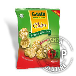 Chips gusto Pizza Giusto senza glutine