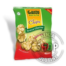 Chips gusto Pizza Giusto senza glutine