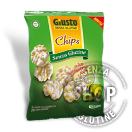 Chips con Olio Extravergine d'Oliva Giusto senza glutine
