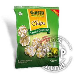 Chips con Olio Extravergine d'Oliva Giusto senza glutine