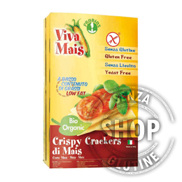 Crispy Crackers di Mais Viva Mais Probios senza glutine