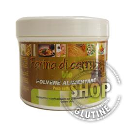Farina di Carrube Laboratori Bio Line senza glutine