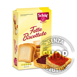 Fette Biscottate Schr senza glutine