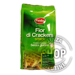 Fior di Crackers Snack Pandea senza glutine