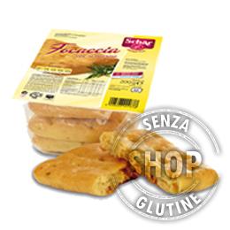 Focaccia al Rosmarino Schär senza glutine