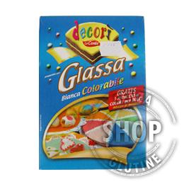 Glassa Bianca Colorabile Decorì Lo Conte senza glutine