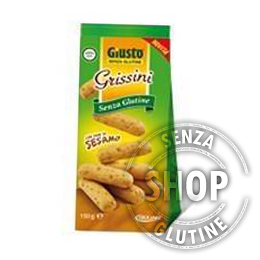 Grissini al Sesamo Giusto senza glutine