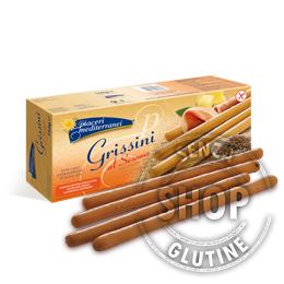 Grissini al Sesamo Piaceri Mediterranei senza glutine