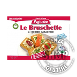 Le Bruschette Aglutèn senza glutine