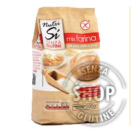 Mix Farina Nutri Sì senza glutine