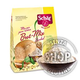 Mix per pane rustico Schär senza glutine