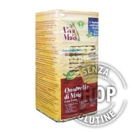 Quadrette di Mais Corn Cakes Viva Mais Probios senza glutine