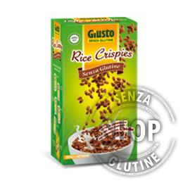 Rice Crispies con Cacao Giusto senza glutine