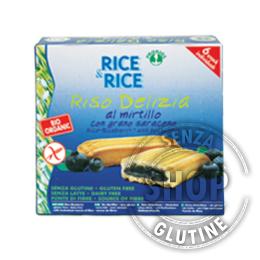 Riso Delizia ai Mirtilli Rice&Rice Probios senza glutine