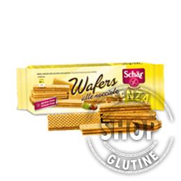 Wafers alle Nocciole Schär Schär senza glutine